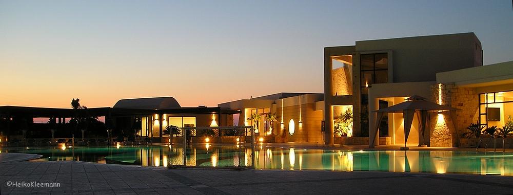 Das Grand Hotel auf Kreta . . .