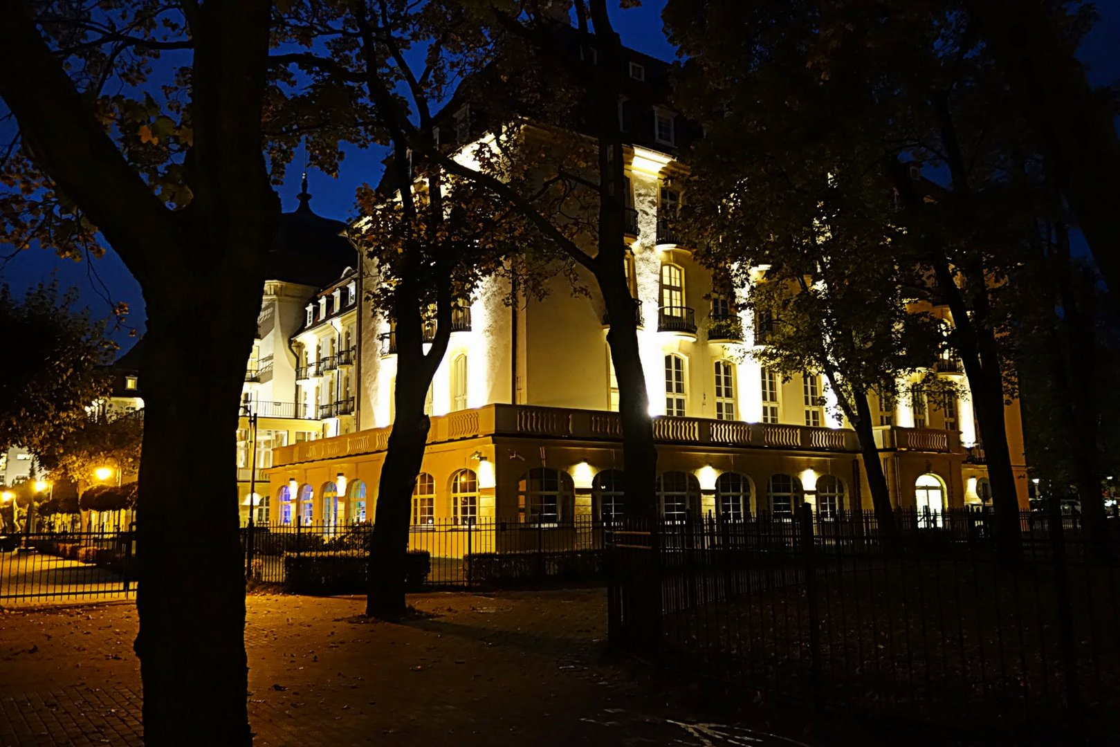Das Grand Hotel in Sopot