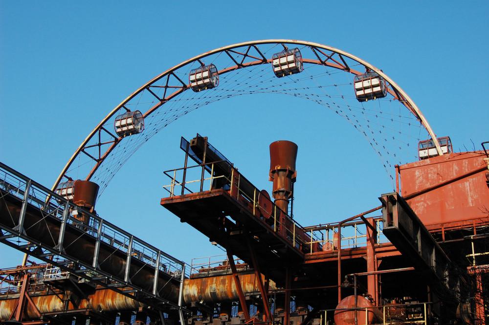 Das große Rad auf Zollverein