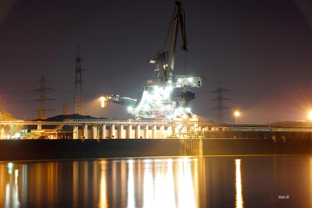 Das Großkraftwerk Mannheim, GKM, Krananlage