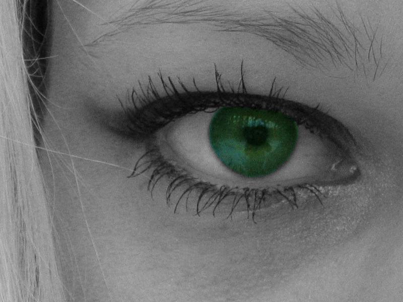 das grüne Auge