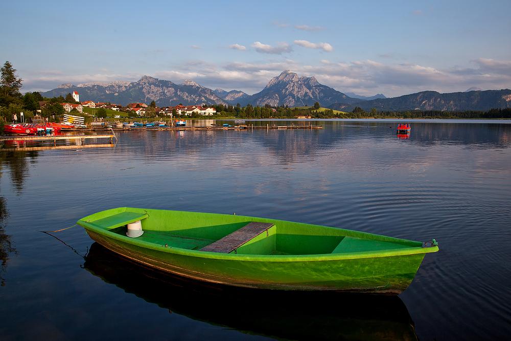 das grüne Fischerboot