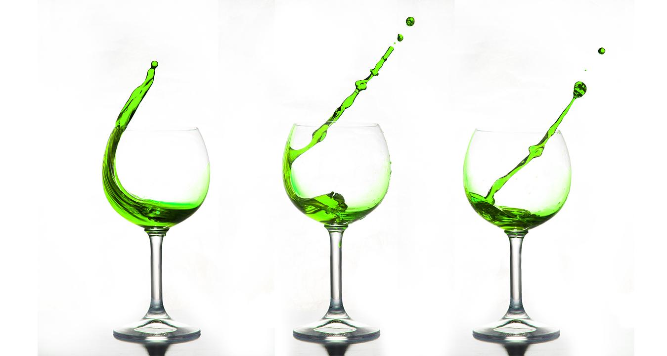 Das grüne Getränk