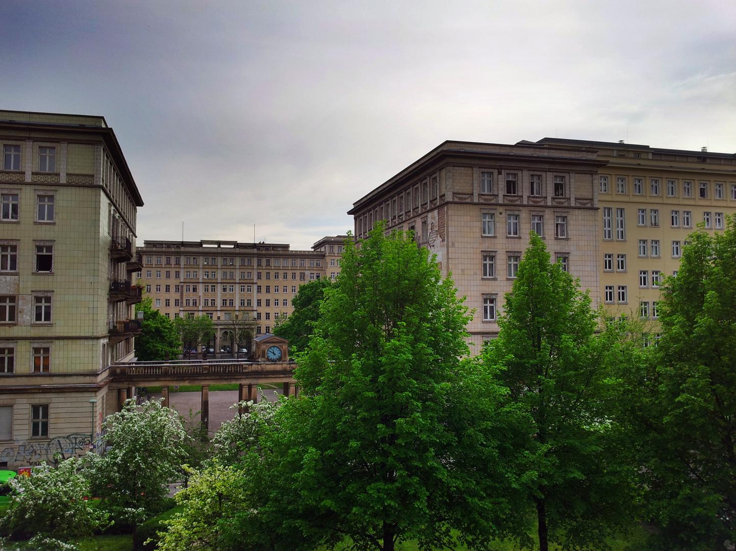 das Grüne Herz der Frankfurter Allee von Hinten