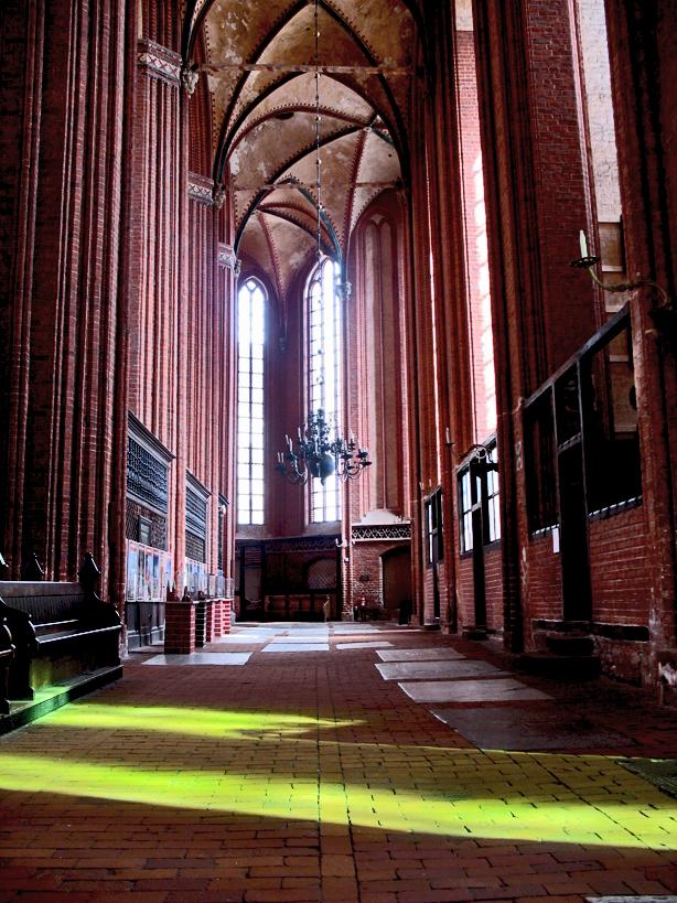 Das grüne Kirchenfenster