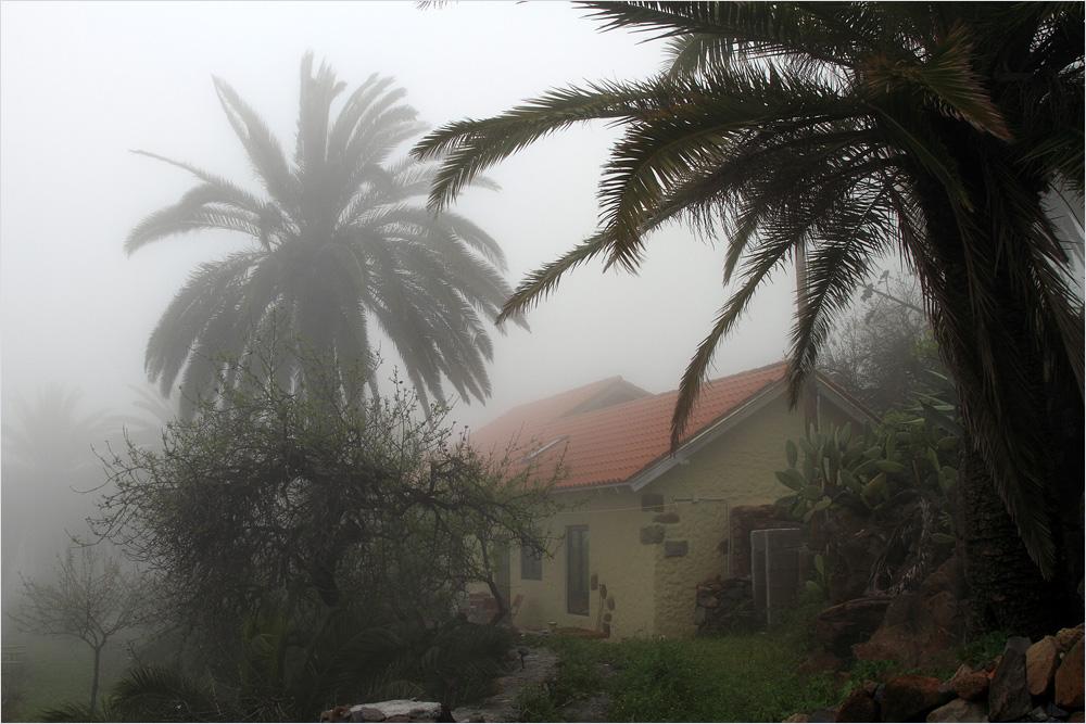 das Gute am Nebel....er ist nur auf einer Seite von La Gomera