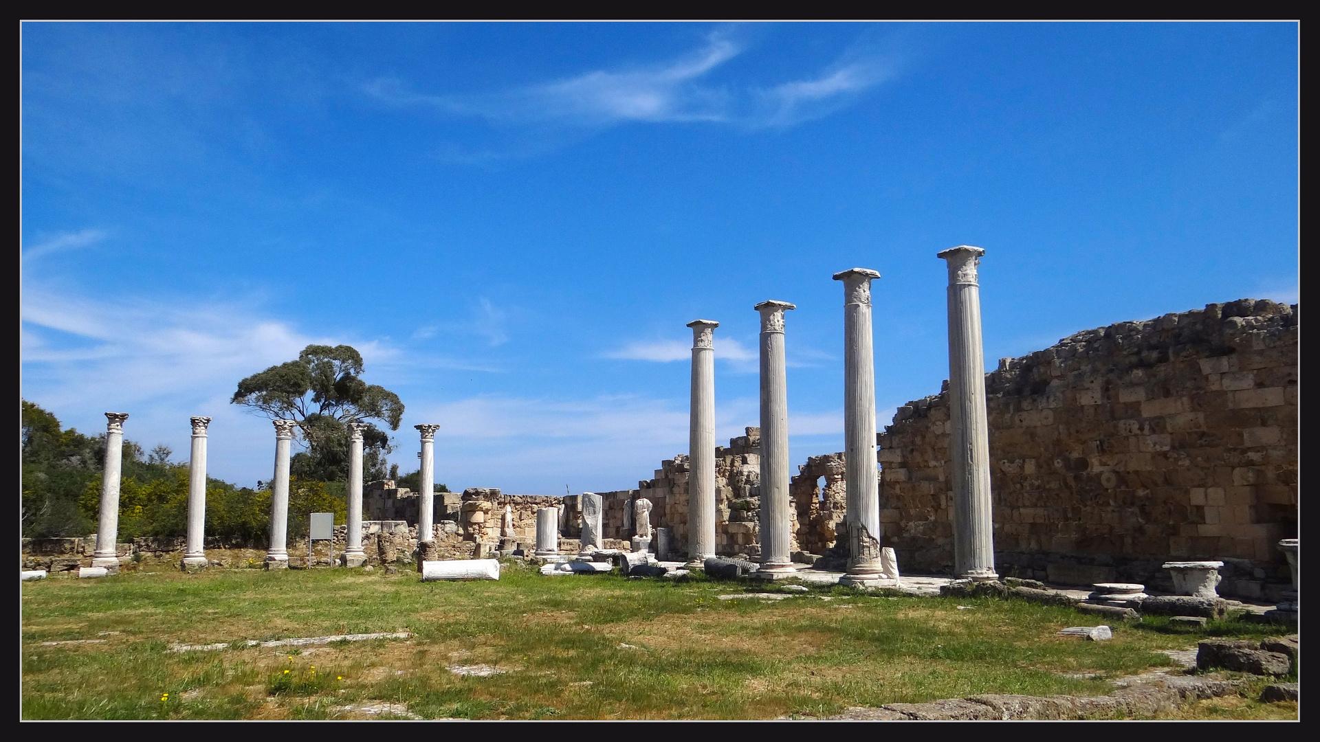 Das Gymnasium von Salamis