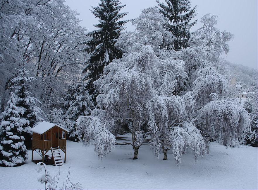 Das Häuschen am Baum ( Ein Wintertraum )