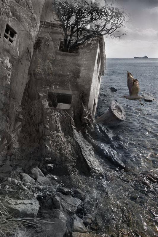 Das Häuschen bei dem Meer