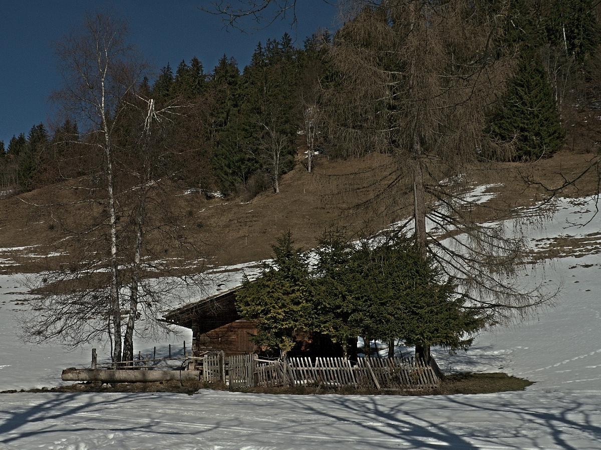 das Häuschen in den Bergen