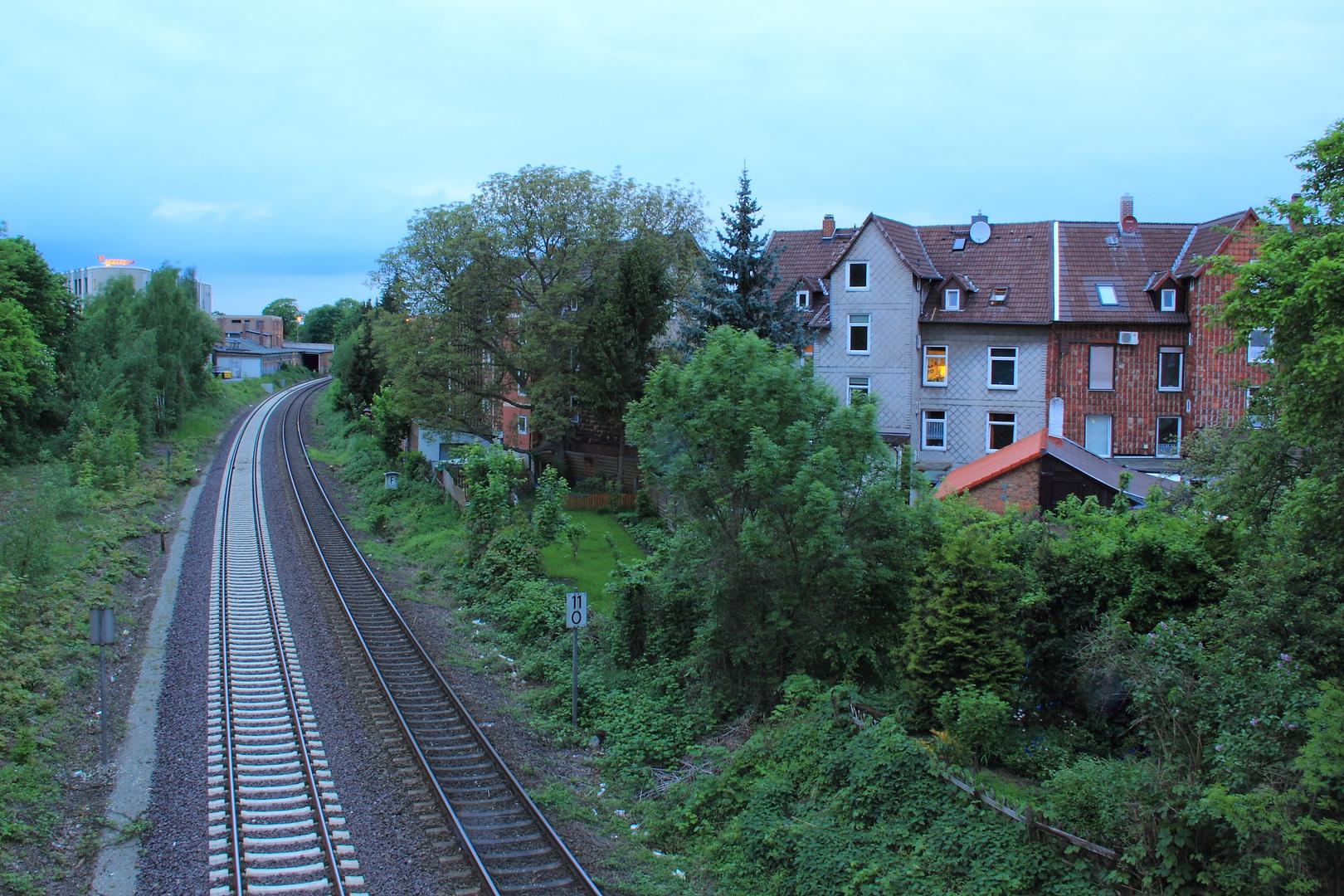 Das Haus an den Gleisen