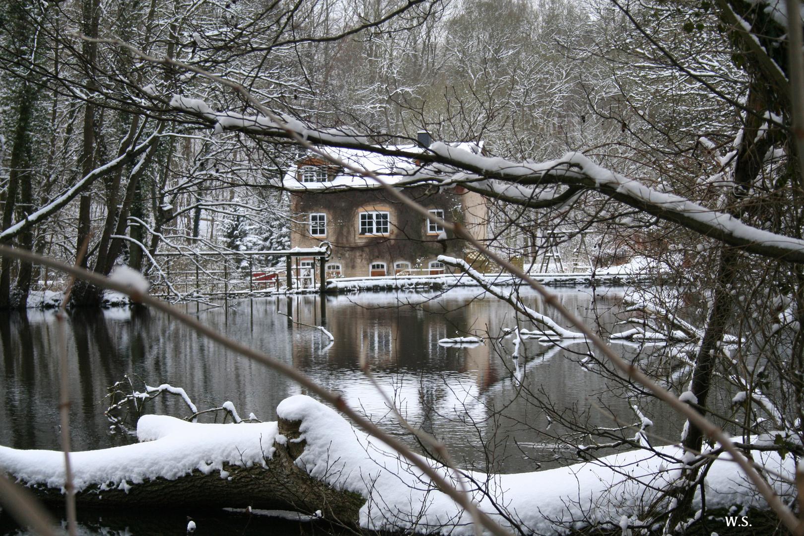 Das Haus an der Schwentine.