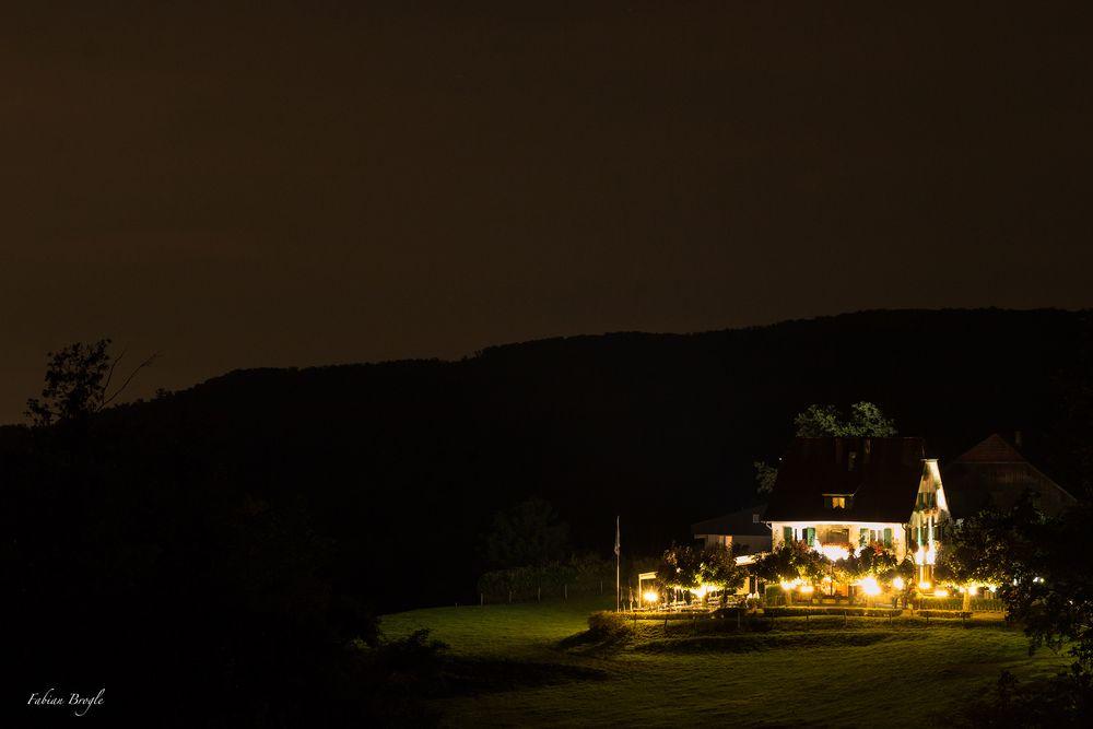 Das Haus im Licht