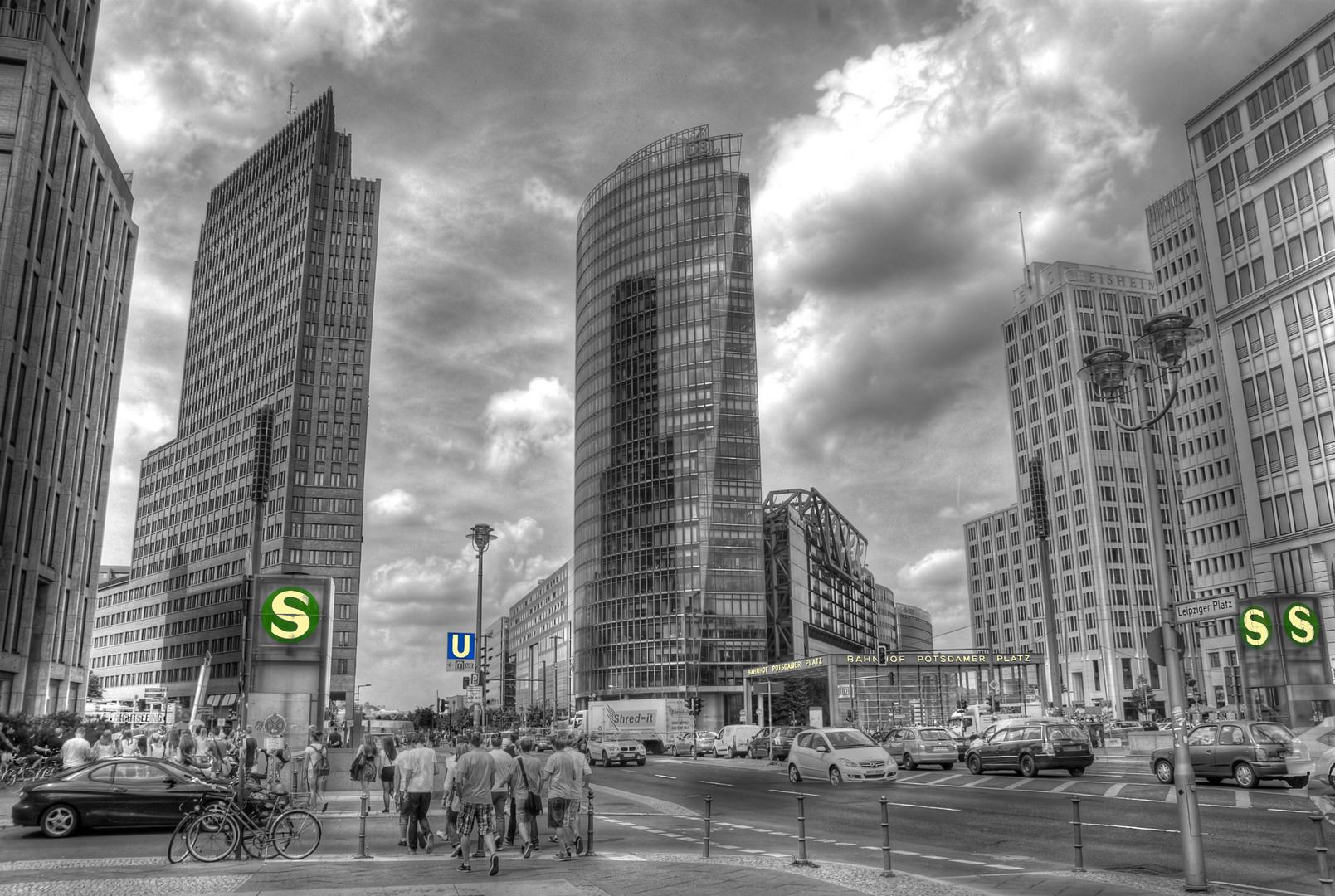 Das herz der 20er jahre der potsdamer platz in berlin for Architektur 20er
