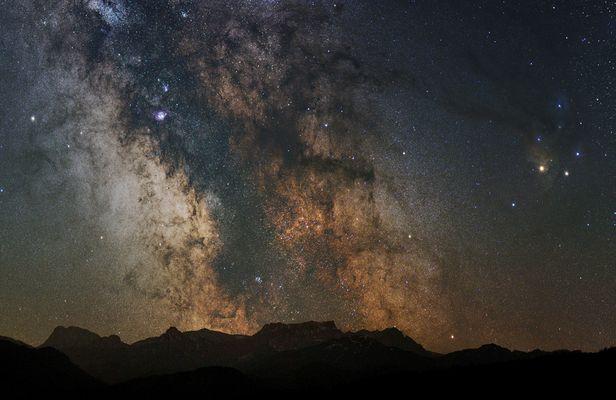 Das Herz der Milchstraße