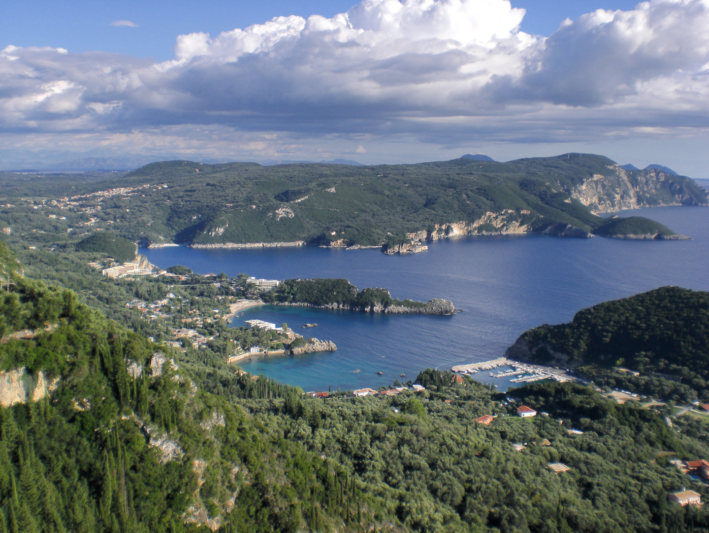 Das Herz von Paleokastritsa, Korfu
