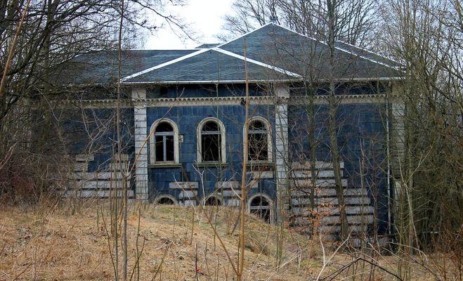 Das Herzstück des verlassenen Dorfes