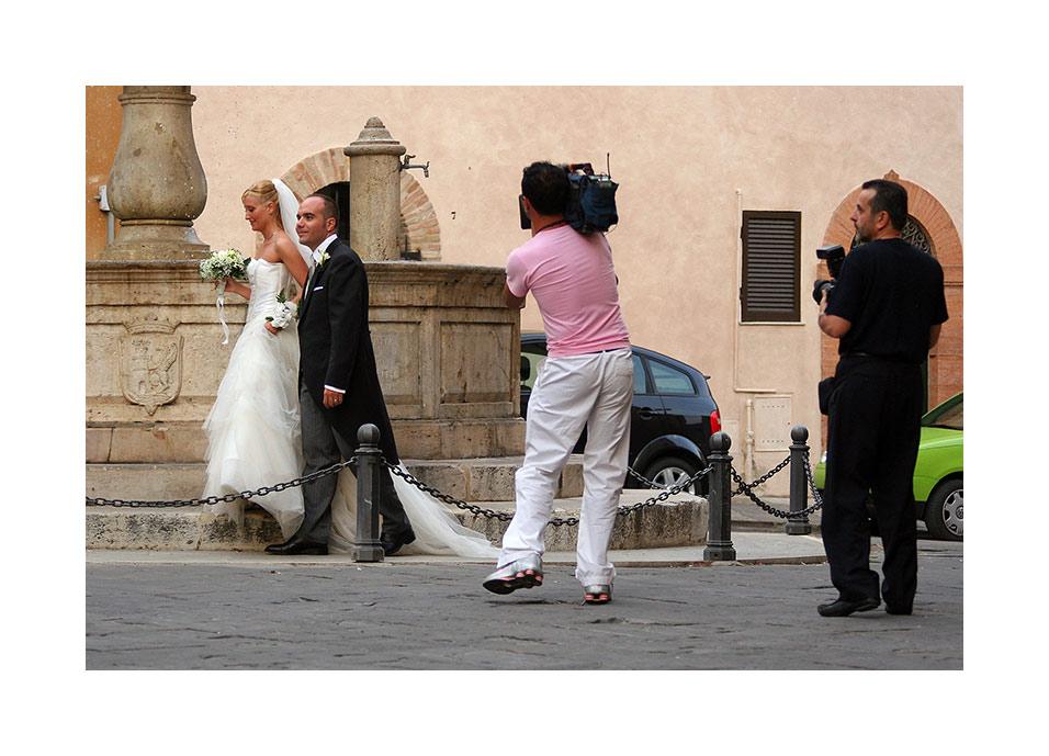 Das Hochzeits-Shooting