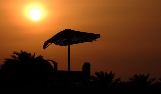Das Hotel im Schatten der Sonnengöttin