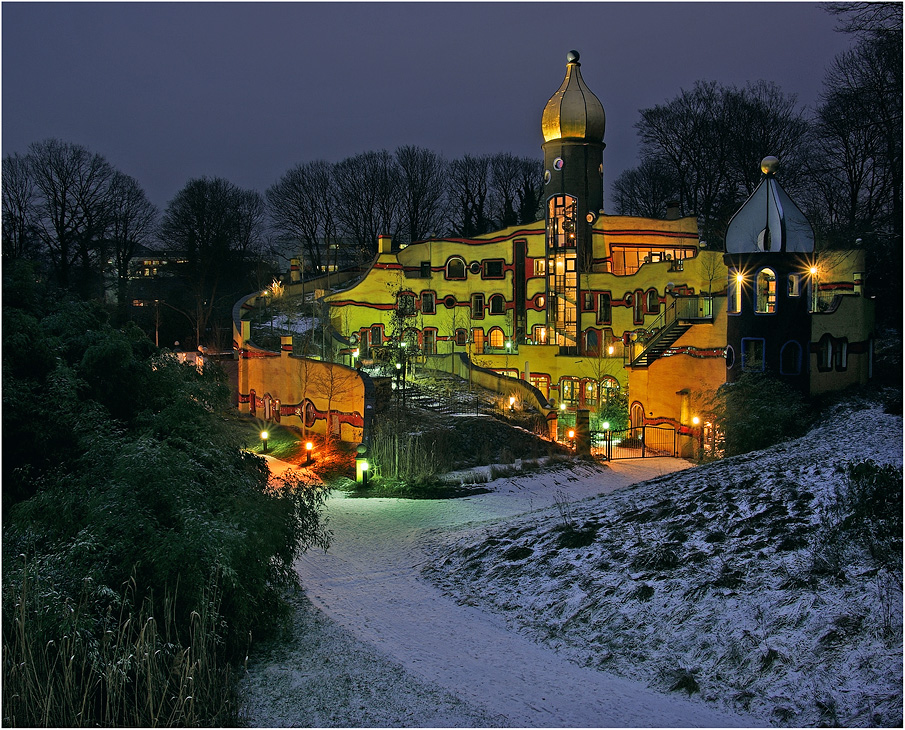 """ das Hundertwasserhaus """