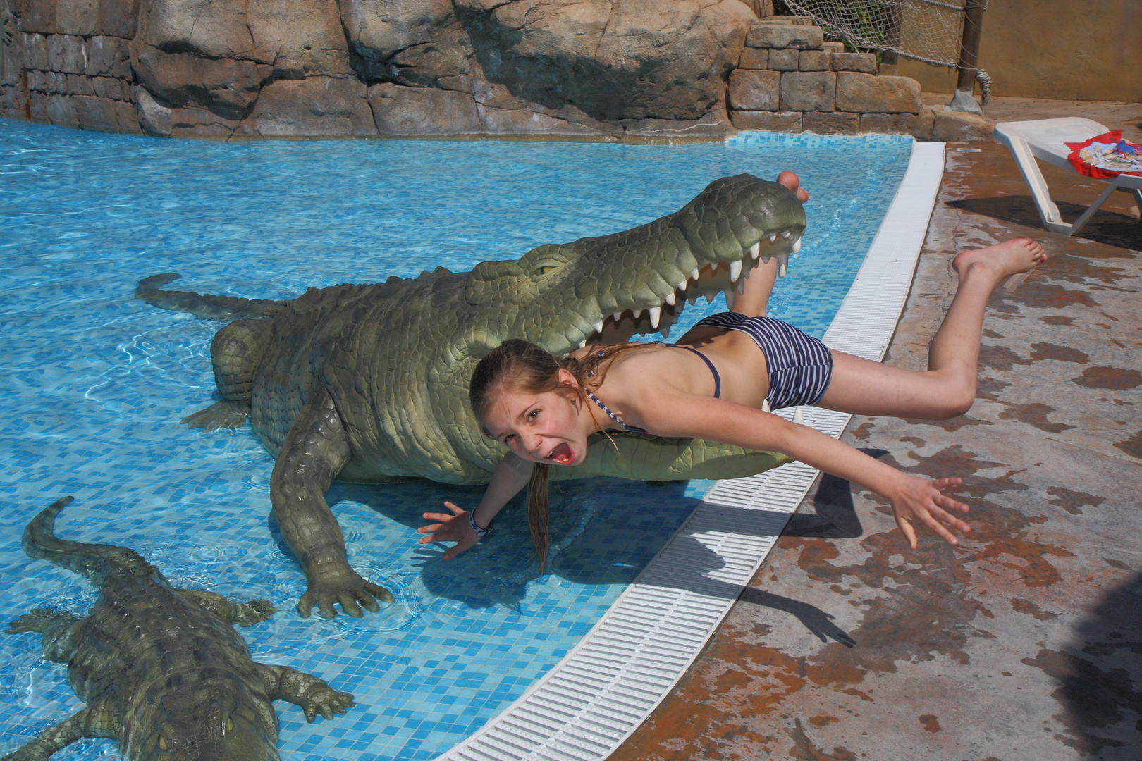 Das hungrige Krokodil