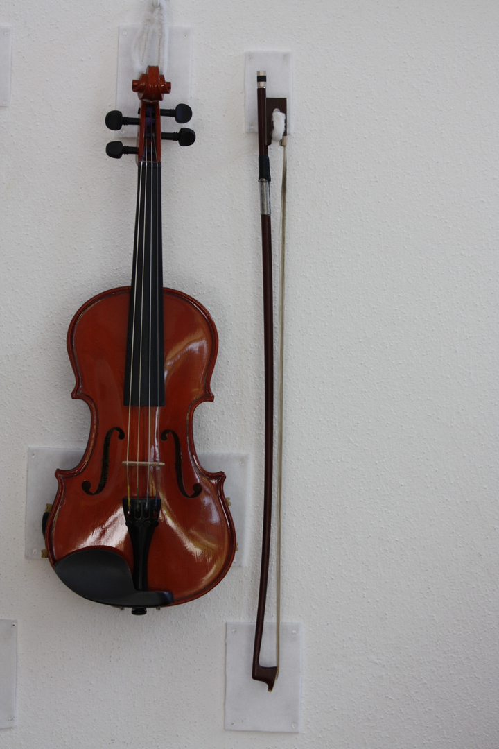"Das Instrument unserer ""Junggeigers"""