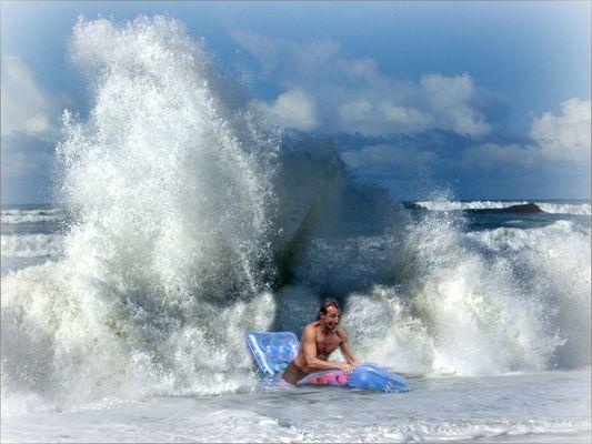 ... das ist die perfekte Welle ...