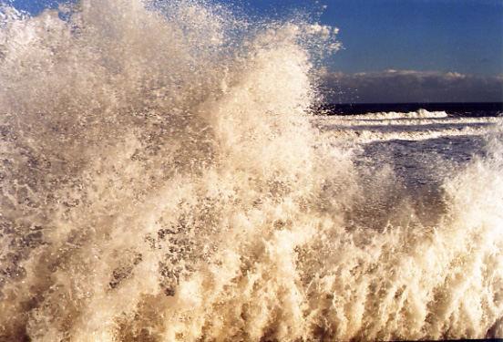 Das ist die perfekte Welle...