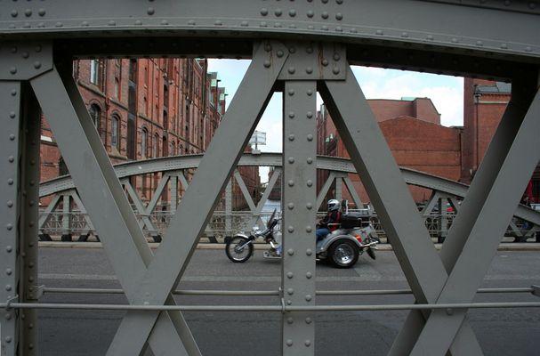 Das ist Hamburg: Speicherstadt mit Trike