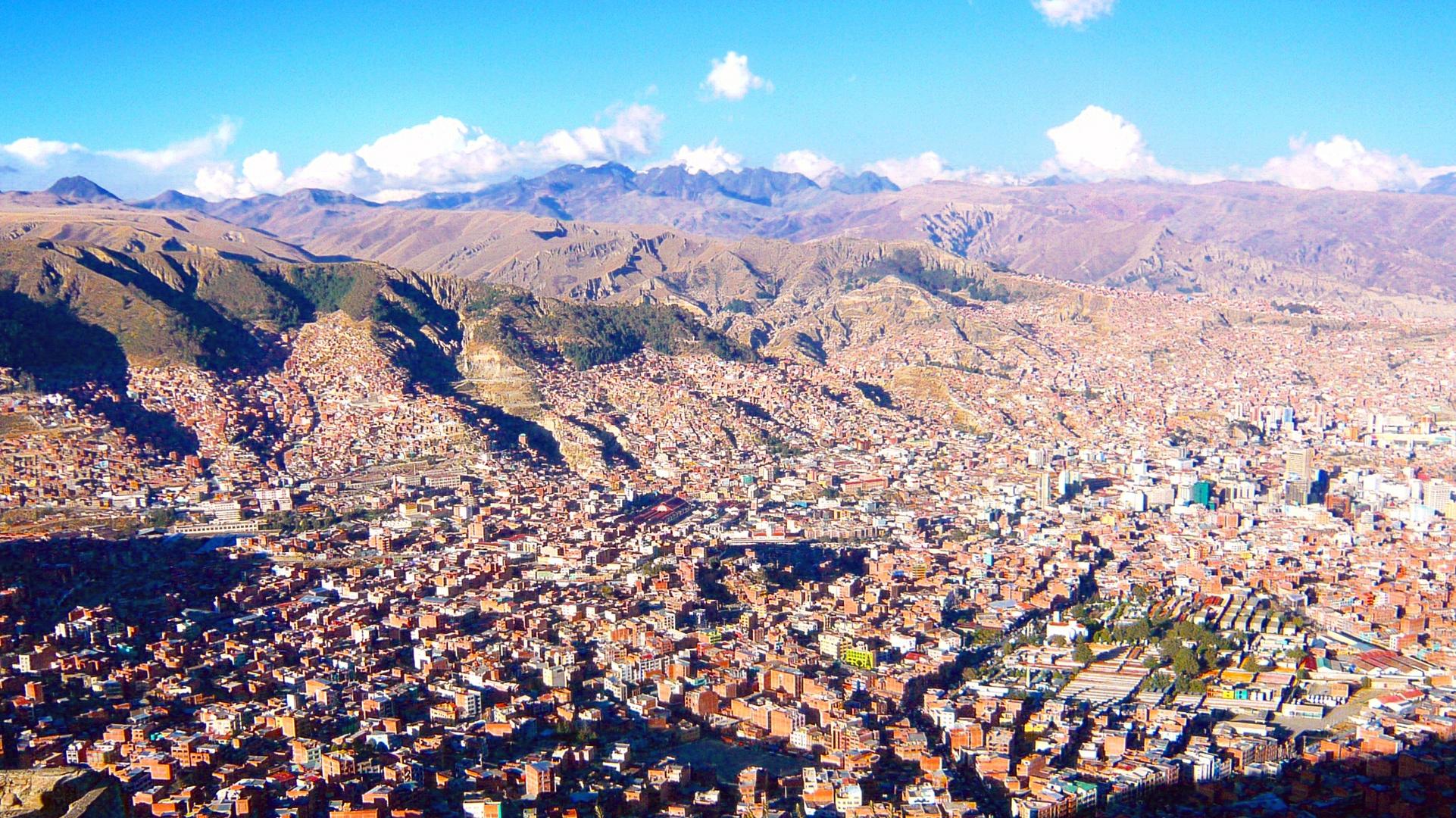 Das ist ja wohl die Höhe - La Paz