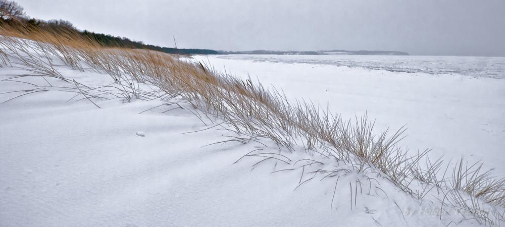 Das ist kein Sand sondern Schnee