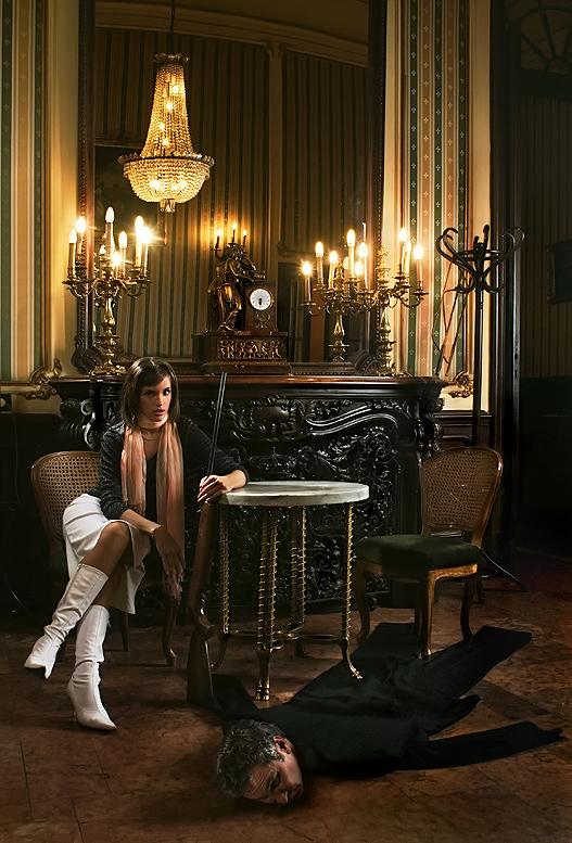 das jagdzimmer meines mannes foto bild fashion mehrere personen indoor bilder auf. Black Bedroom Furniture Sets. Home Design Ideas