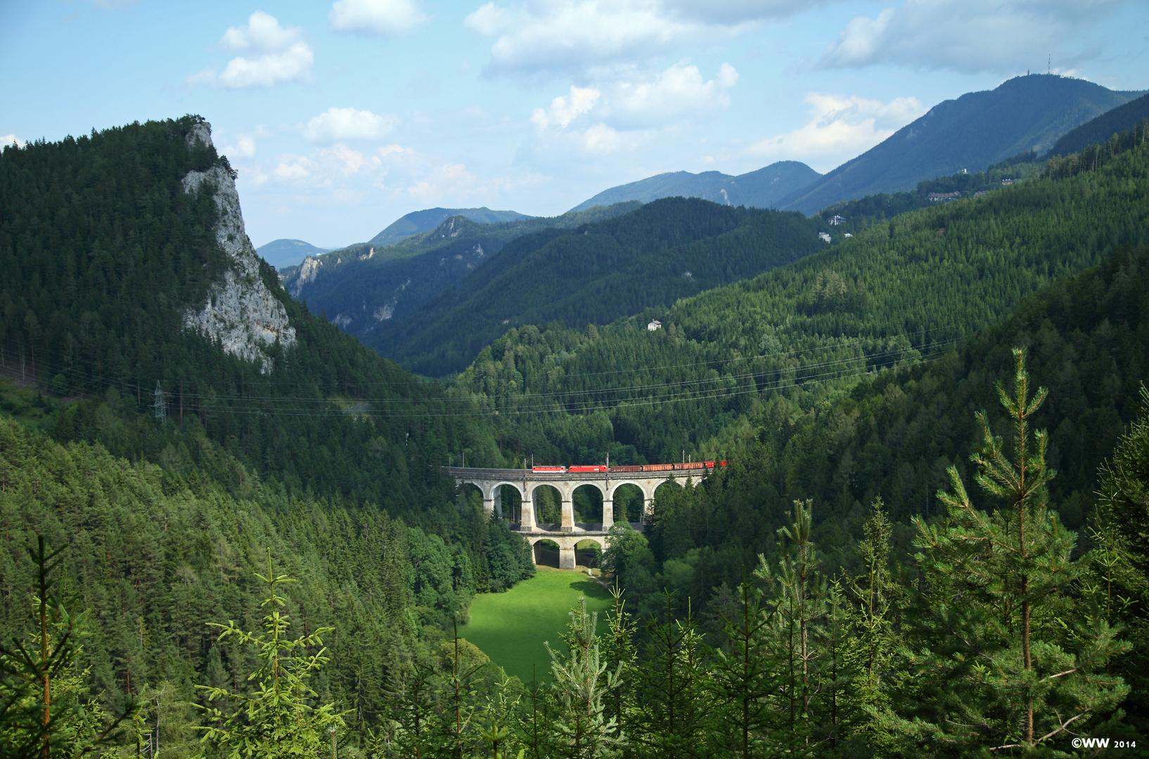 Das Kalte Rinne Viadukt...
