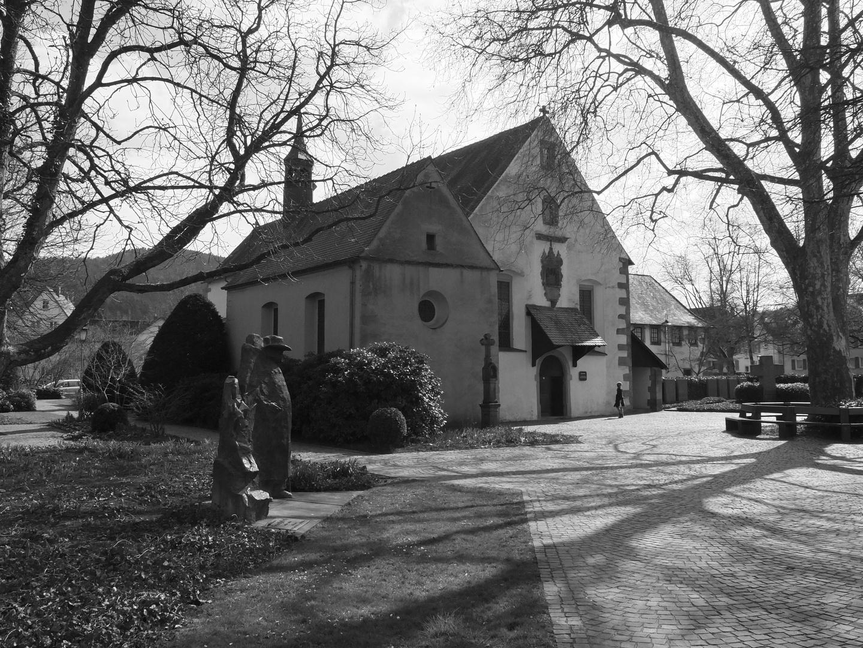 das Kapuzinerkloster in Haslach im Kinzigtal an einem Sonntagnachmittag im April 2013