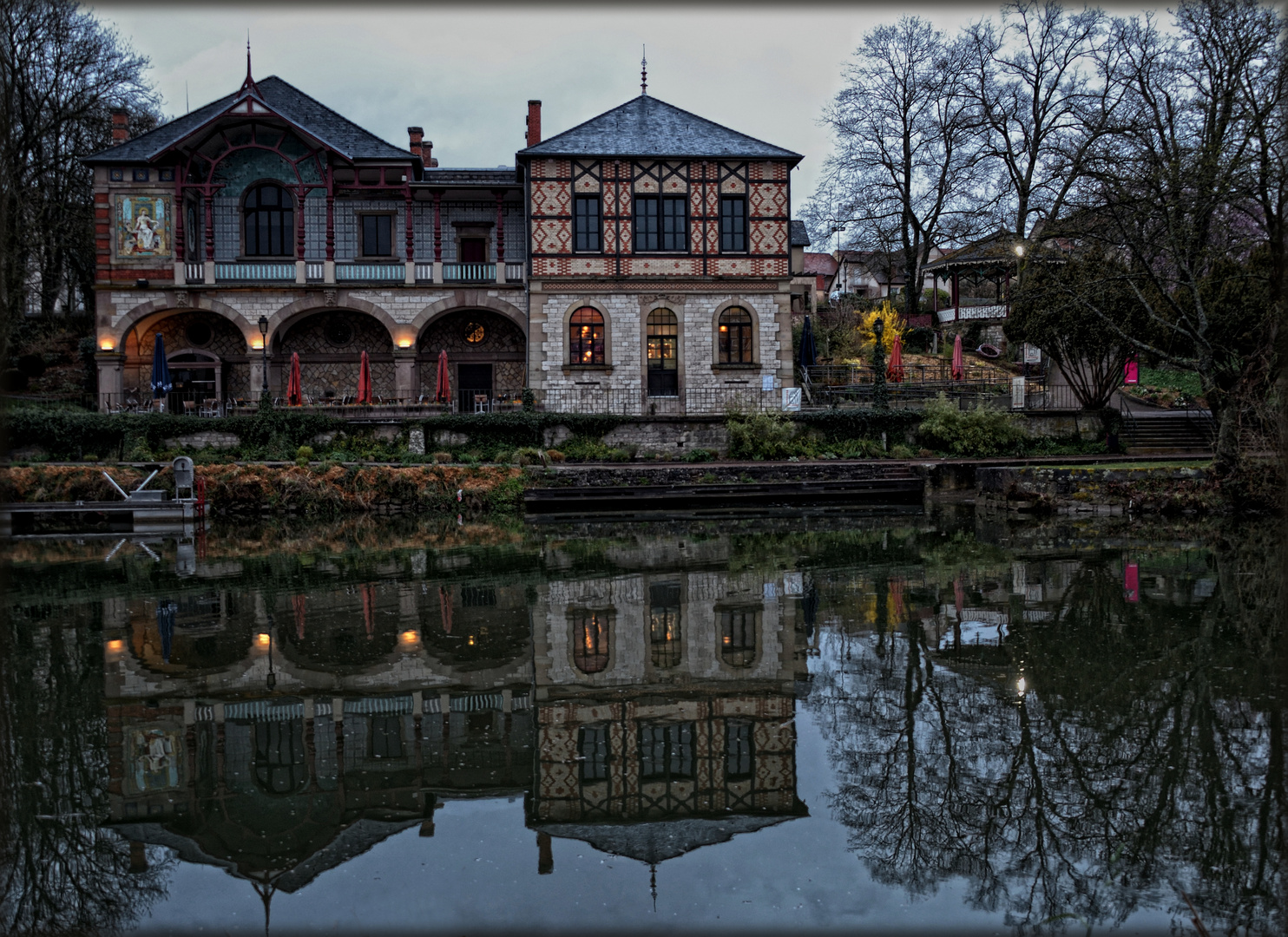 Das Kasino der Keramiker - Le Casino des Faïenceries