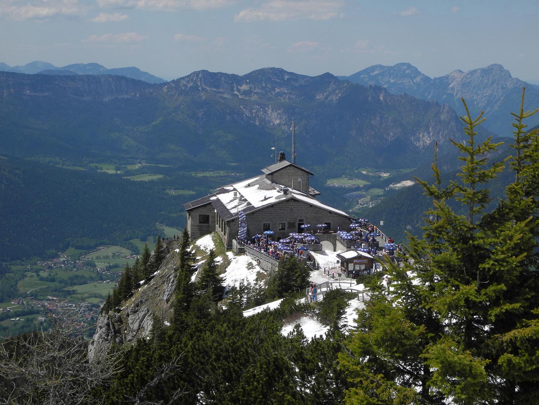 Das Kehlsteinhaus (1834m) im Berchtesgadener Land