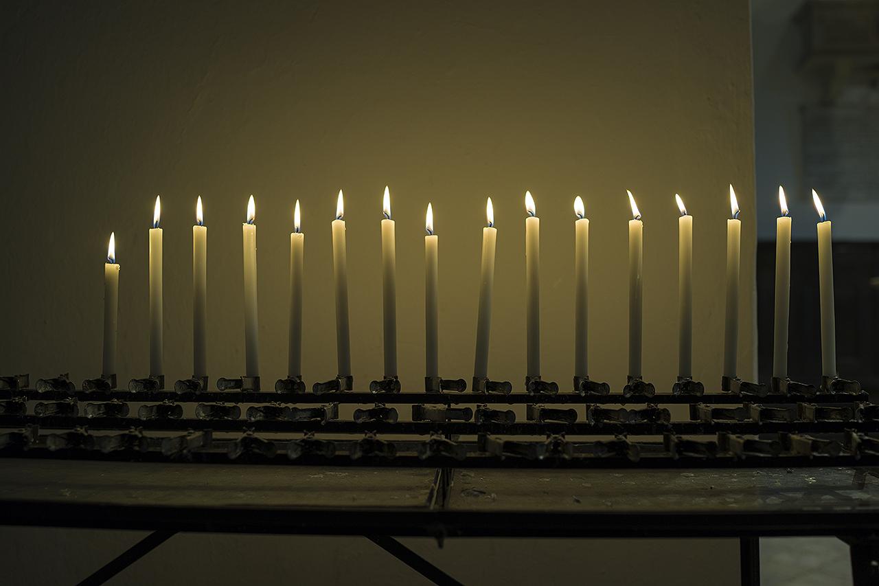 Das Kerzenlicht