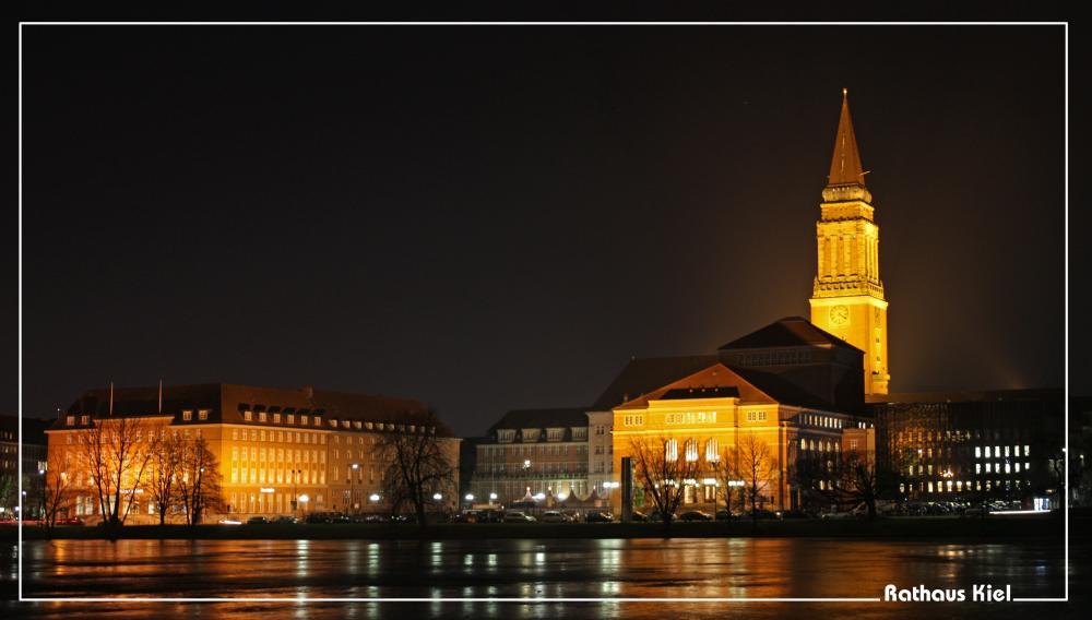 Das Kieler Rathaus