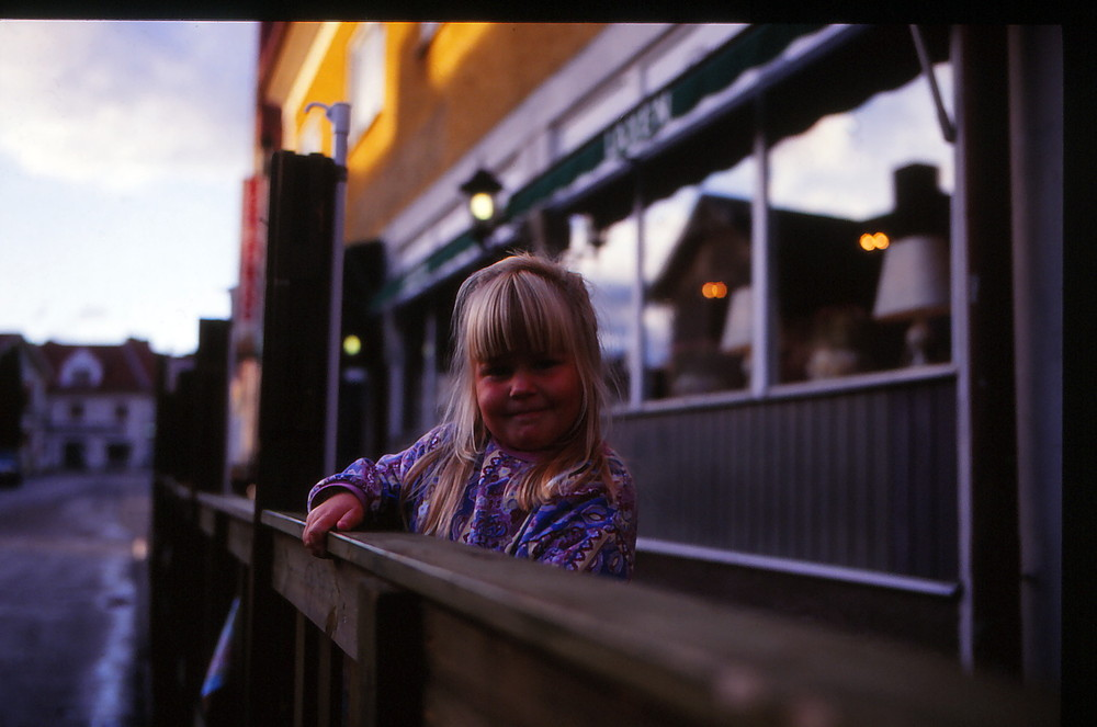 Das Kind in Nordnorwegen
