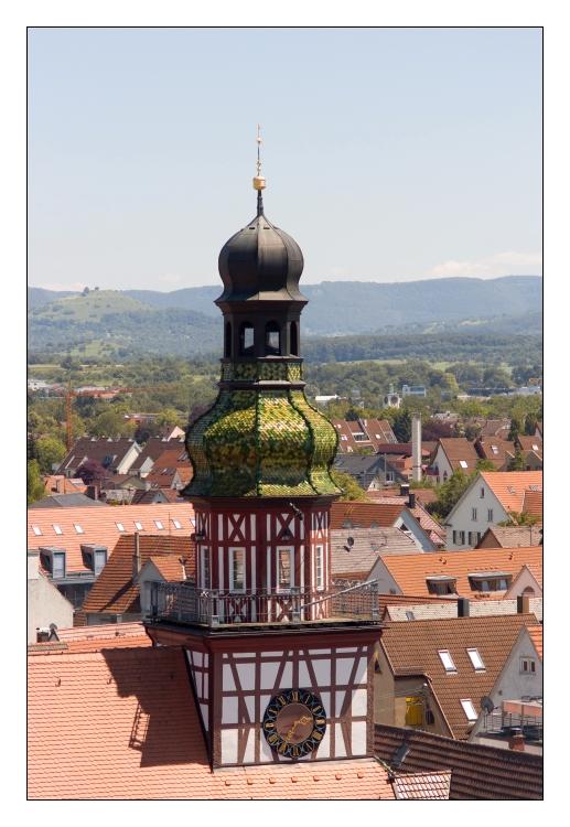 Das Kirchheimer Rathaus ...