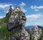 Das Kirchlein auf dem Wendelstein