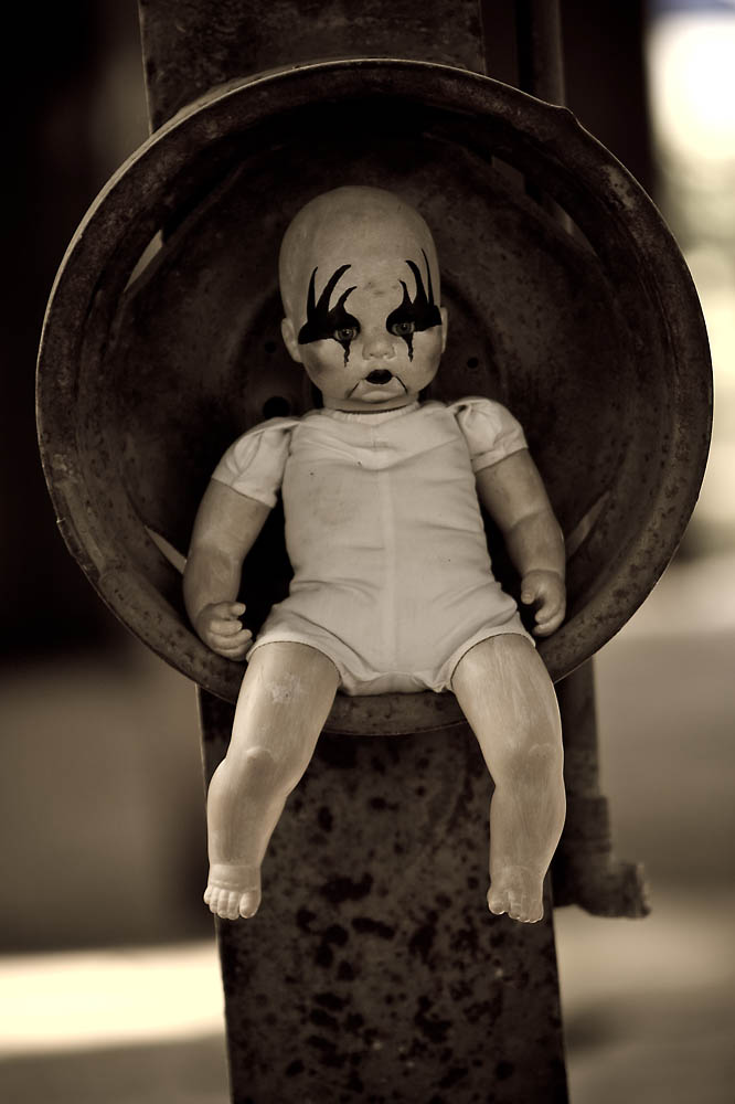 das Kiss-Baby wartet auf seinen Einsatz