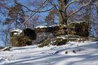 Das kleine Prebischtor im Winter