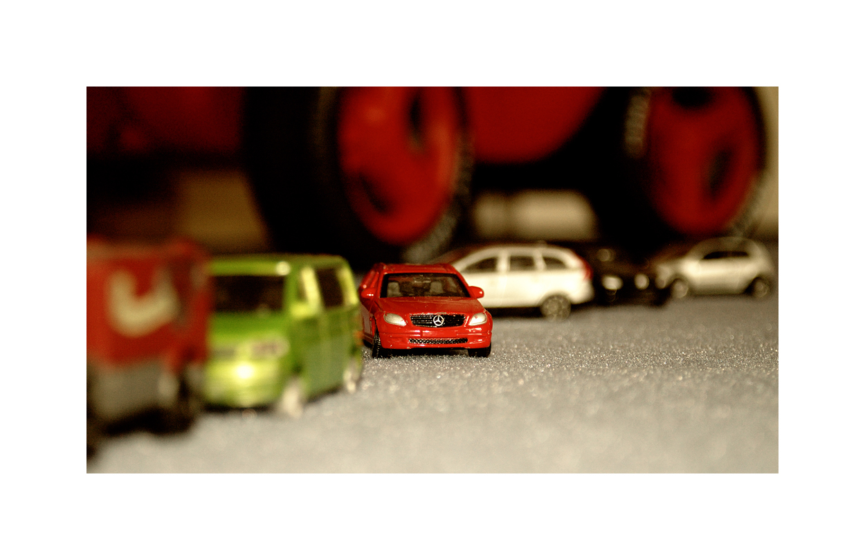 Das kleine rote Auto