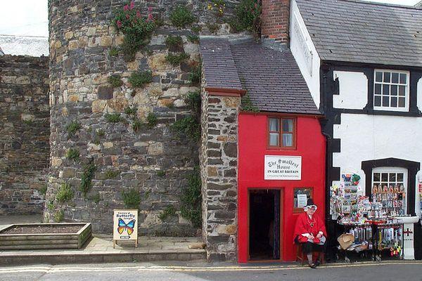Das kleinste Haus Großbritanniens