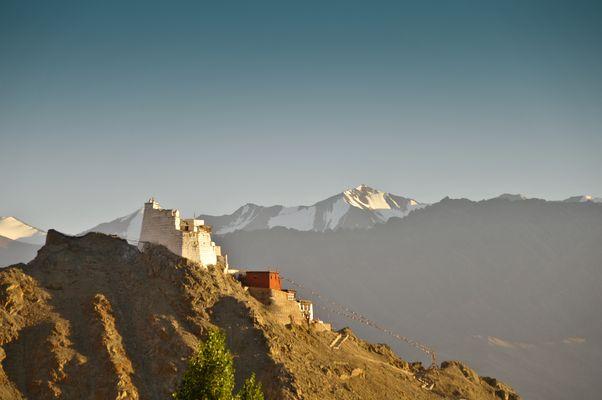 Das Kloster in den Bergen