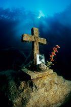 Das Kreuz im Samaranger See