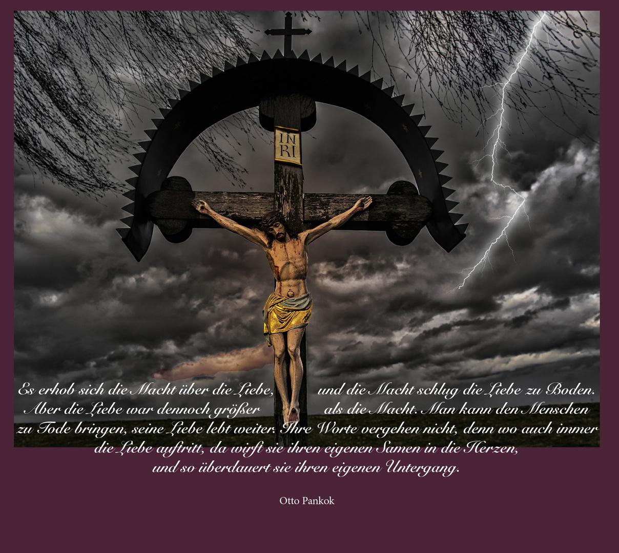 Das Kreuz im Sturm