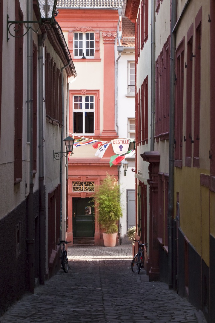 Das Küchengäßchen in Heidelberg