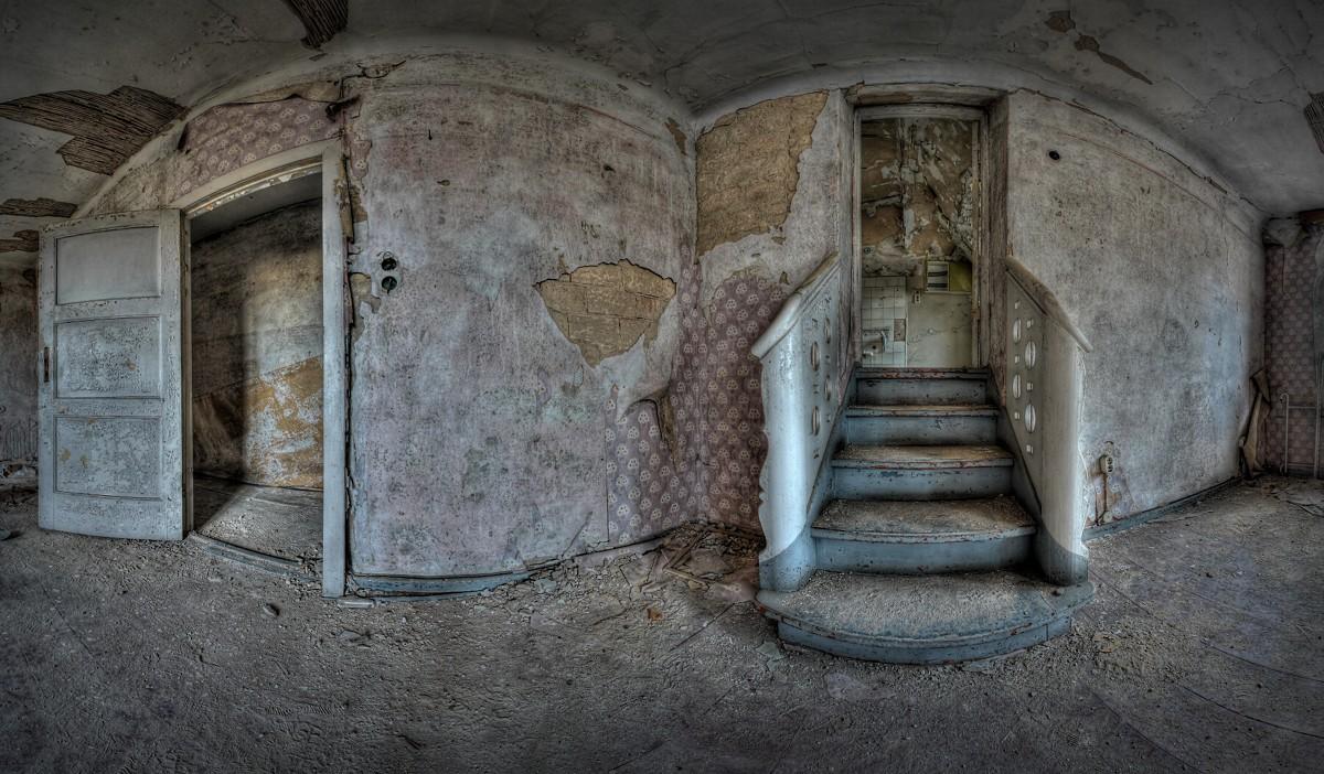 Das kurze Treppchen